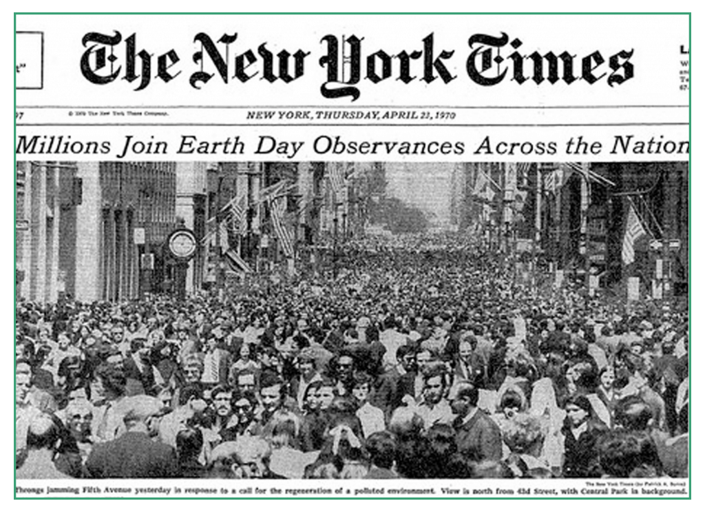 Earth Day April 22, 1969